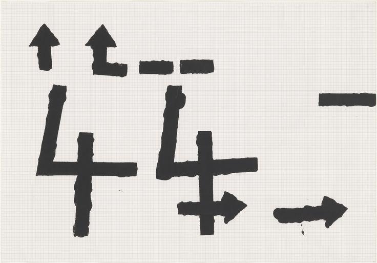 Jannis Kounellis. Untitled. (1962)