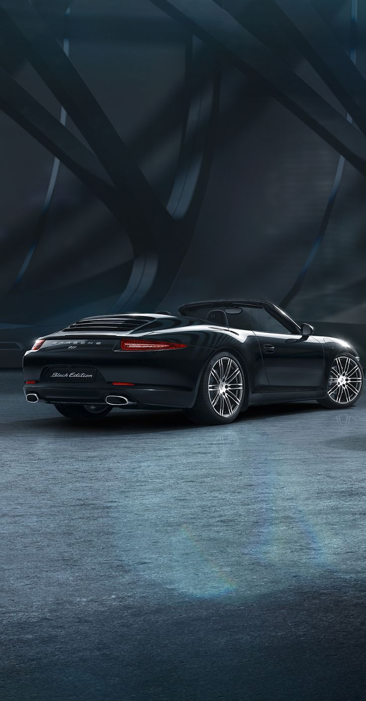 The new 911 Carrera Black Edition models. Learn more: http://link.porsche.com/black-edition-911-pin-gallery *Combined fuel consumption in accordance with EU 6: 9.5-8.2 l/100 km; CO2 emissions: 223-191 g/km