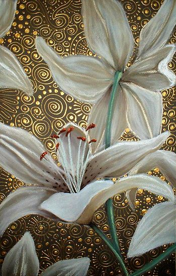 Lilies on Parade by Cherie Roe Dirksen (prints available) #art