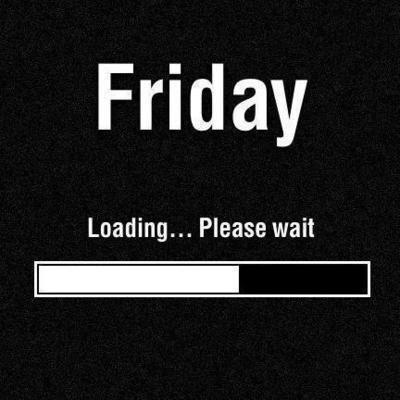 Tomorrow is *Loading - Please Wait*