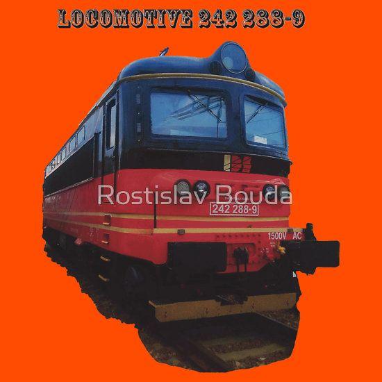 Electric Locomotive 242 288-9