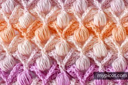 crochelinhasagulhas: Ponto sopro em crochê