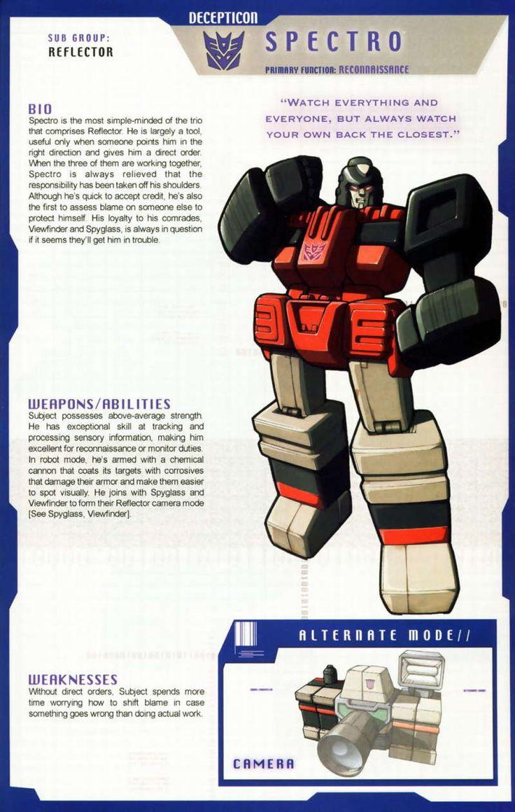 Transformers Universe - Gallery: G1 Reflector