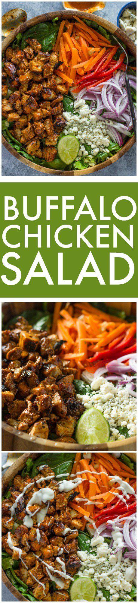 Buffalo Chicken Salad | Gimme Delicious