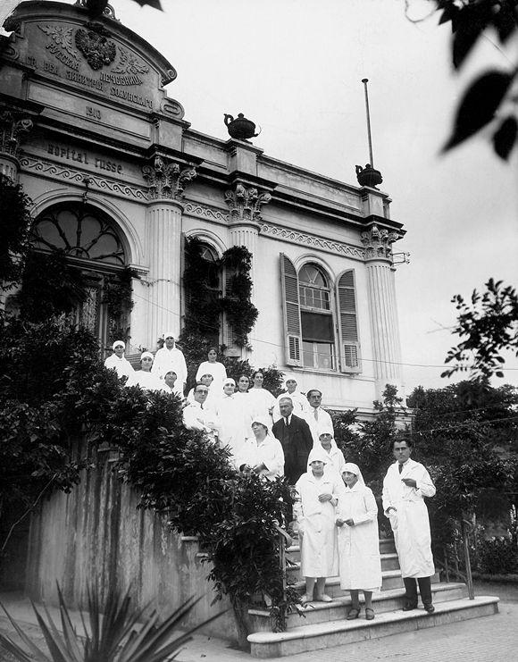 Το Ρωσικό Νοσοσκομείο, όταν λειτουργούσε ως Μαιευτική Γυναικολογική κλινική