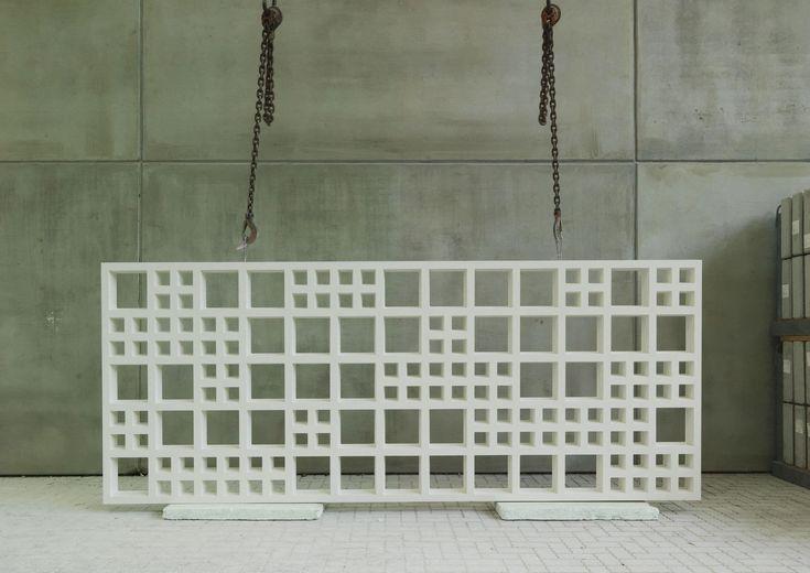 Fassadenverkleidung aus Beton