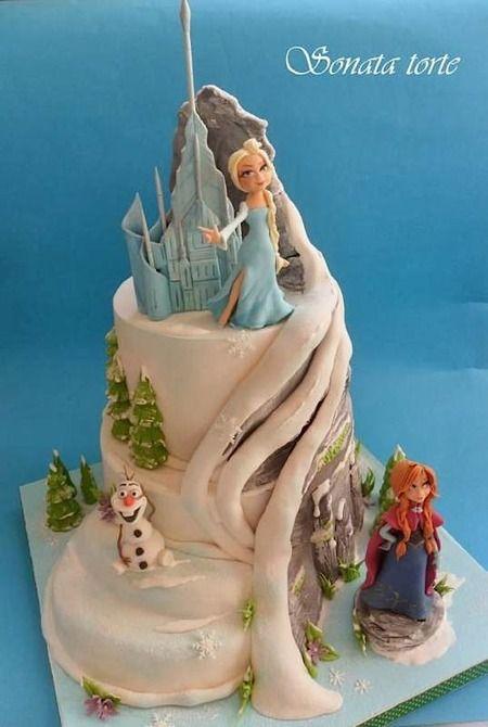 83 best Frozen Fever Disneys Frozen Cakes images on Pinterest