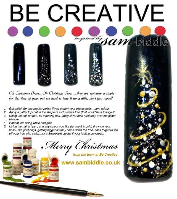 Christmas tree tutorial by Sam Biddle
