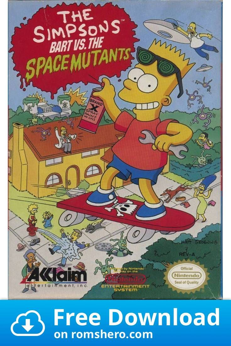 Download Simpsons Bart Vs The Space Mutants, The