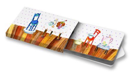 Anežka Konečná - Pokojíček #cute #ilustration  #ChewingGums #Žvýkačky #room