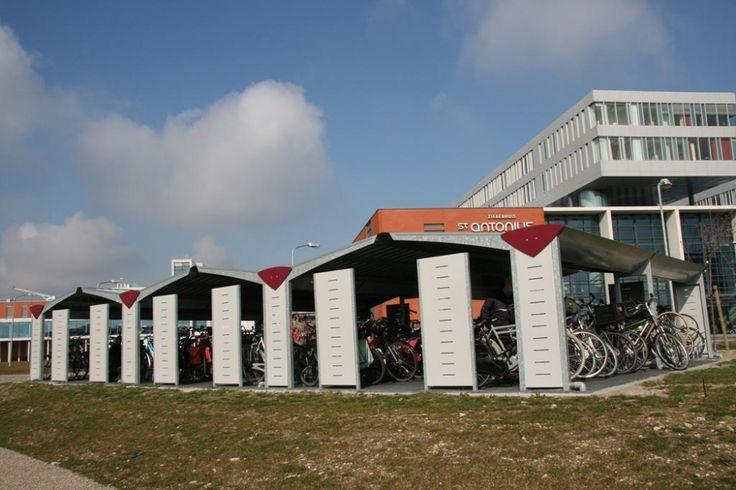 Triangel fietsenstalling: fraai en functioneel!