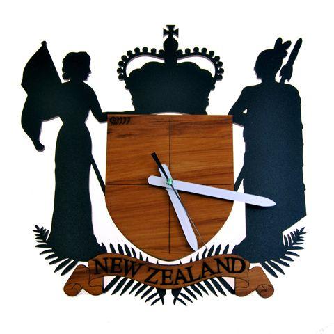 God Defend NZ Wall Clock – Ian Blackwell   Shop New Zealand