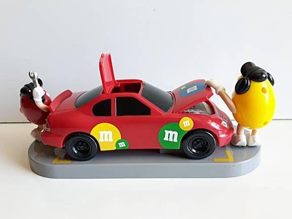 Compre Vintage e Retro M&M Usado no enjoei :p Dispenser M&M Stock Car Lindo e grande, cabe bastant.... Código: 19296889
