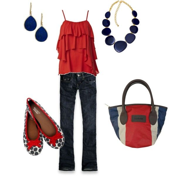 Red White & Blue. Love this!: Shoes, Blue Fashion, Style, Clothing, Red White Blue, Games Day Outfit, 4Th Of July, July 4Th, Dreams Closets