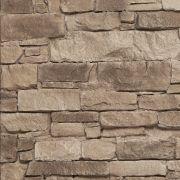 LASCAS NAVARRETE ANTRACITA,Lascas Navarrete es un panel de tamaño mediano, que imita las paredes de piedras rectangulares pequeñas y grandes, para que se puedan revestir espacios más reducidos.