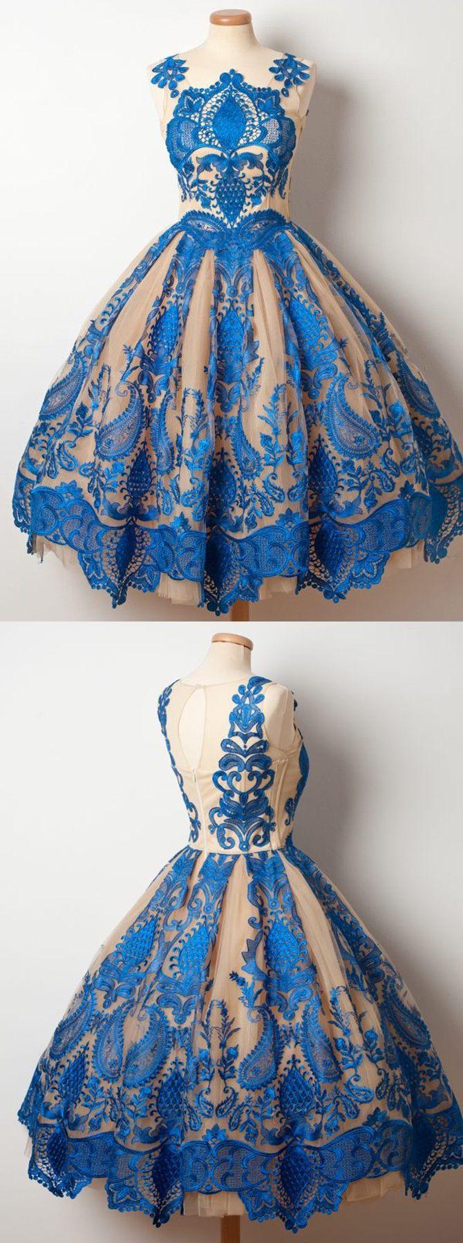 vintage homecoming dresses,1950s dresses,royal bue homecoming dresses,lace homecoming dresses,ball gown homecoming dresses