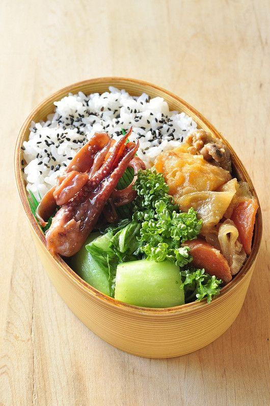 肉じゃが弁当 : 息子&主人へ愛ある健康弁当