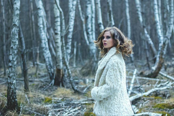 #1 White sheep by IDMW  on 500px #lost #in #woods #girl #blueeys #beauty #dark #idmw