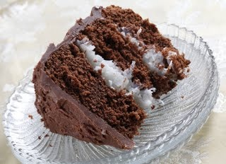 Mounds cake. I have made this cake a few times and they are amazing! But super rich!