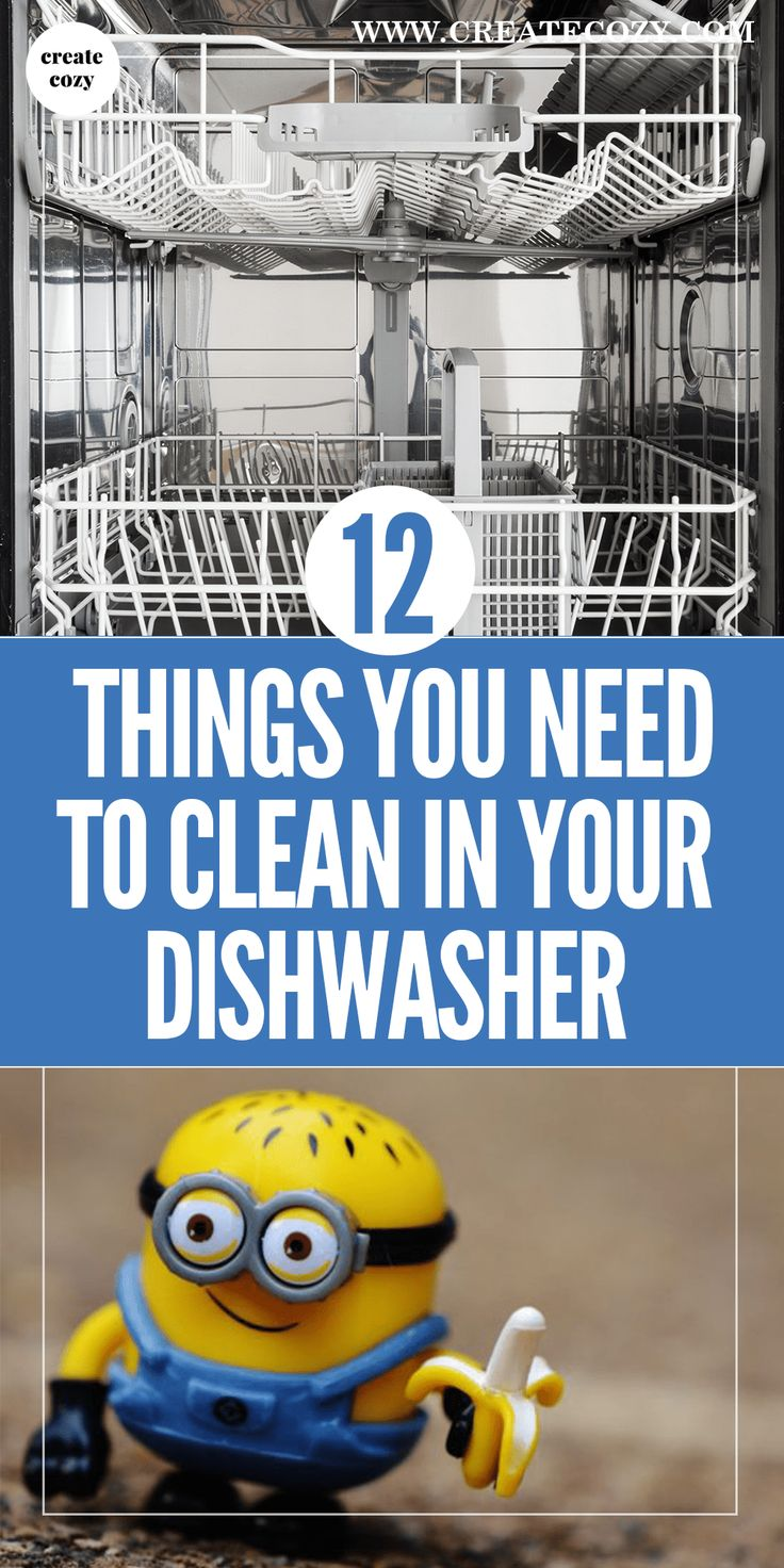 Change the way you use your dishwasher by cleaning more than just dishes! You can clean and sanitize all kinds of household items with your dishwasher!