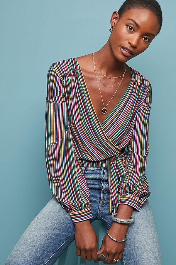 379973731f080 Lisa Striped Blouse in 2019