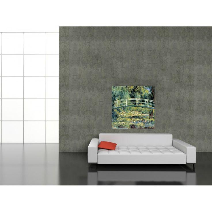 MONET - THE JAPANESE FOOT BRIDGE #artprints #interior #design #art #prints #Monet  Scopri Descrizione e Prezzo http://www.artopweb.com/autori/claude-monet/EC16972