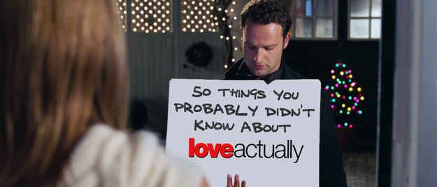 "50 Things You Probably Didn't Know About ""Love Actually"""