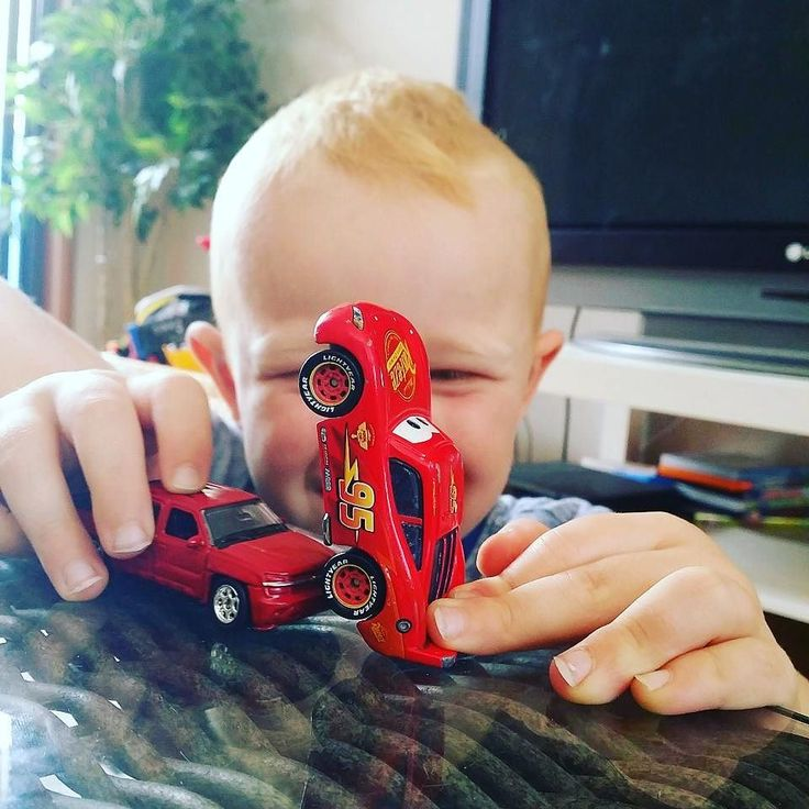 Cheeky boy #grandson master nearly 4yo. He loves cars and trucks he says.. especially red cars I think  .  #family #holiday #Melbourne #toys #red #cheekyboy