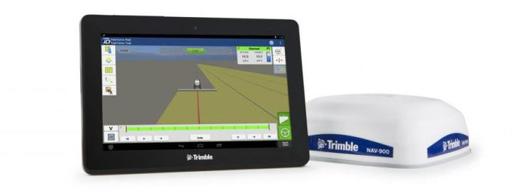 Pantalla Trimble GFX-750 y controladora NAV-900