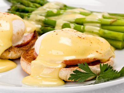 This eggs benedict recipe the perfect way to start your morning, especially since it is quick and easy. Microwaving poached eggs is much faster than cooking over the stove and it produces the same results as well.