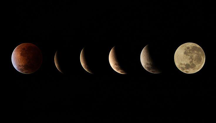 Calendario lunar junio 2014