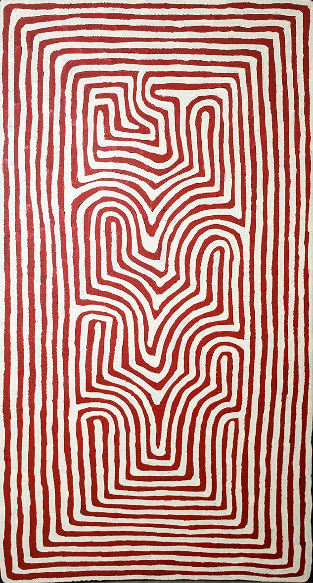 Ronnie Tjampitjinpa - site of Walungurru (ancestral stories) http://www.aboriginalsignature.com/art-aborigene-papunya-tula/ronnie-tjampitjinpa-site-of-walungurru-ancestral-stories