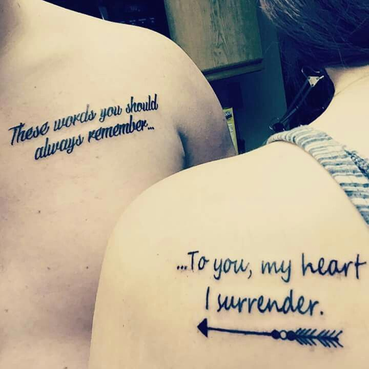 i prevail couple tattoo - Google Search