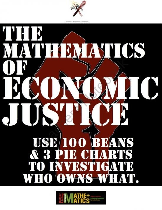 The Mathematics of Economic Injustice: Hands-On Simulation of US Wealth Distribution from Better Living Through Mathematics on TeachersNotebook.com (7 pages)