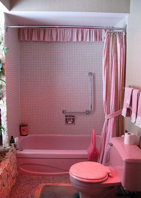 205 Best Pink Bathroom Images On Pinterest Bathrooms Bathroom And 1950s Bathroom