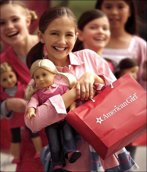 Детские куклы American Girl. 18-дюймовая кукла (45 см). История создания куклы