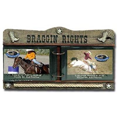 Montana Braggin Rights Photo Albums|Western Photo Frames