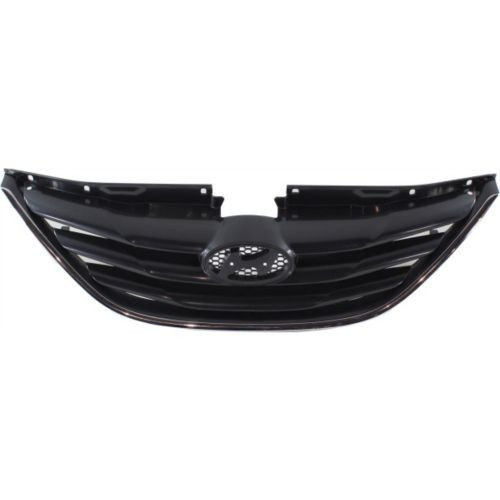 2011-2013 Hyundai Sonata Grille, Textured Black