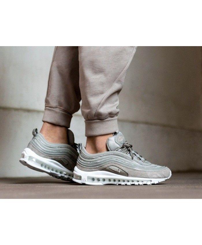 size 40 5e3e5 3e7aa Nike Air Max 97 Cobblestone Grey White Trainers
