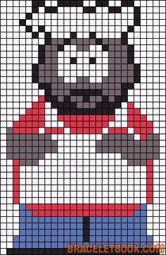 A Pearl of beads on Pinterest | Perler Beads, South Park and Toy Story