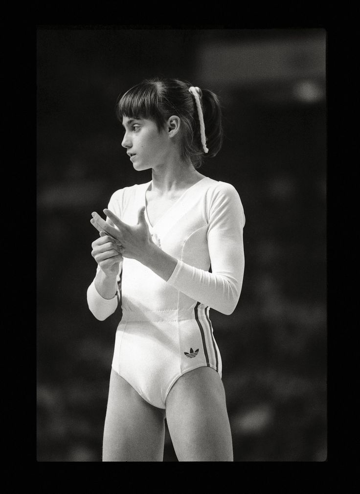Nadia Comaneci in Montreal 1976. A childhood idol.