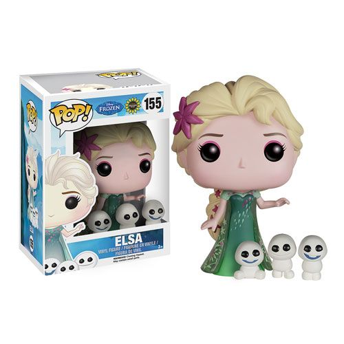 Disney Frozen Fever Elsa Pop! Vinyl Figure - Funko - Frozen - Pop! Vinyl Figures at Entertainment Earth
