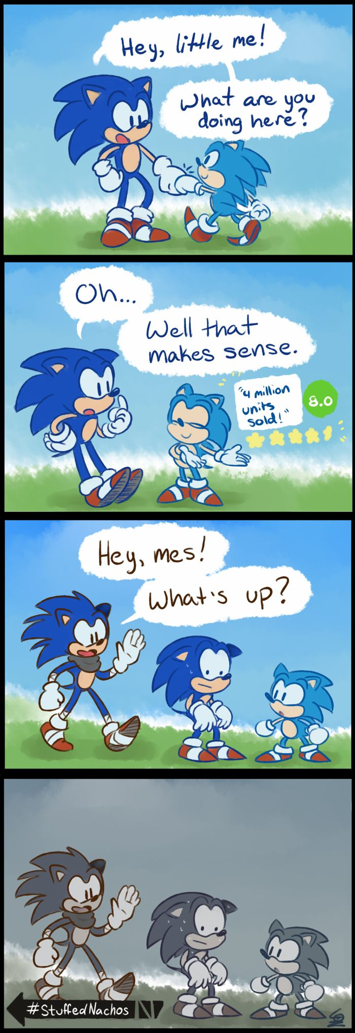 Sonic Generations 2 comic