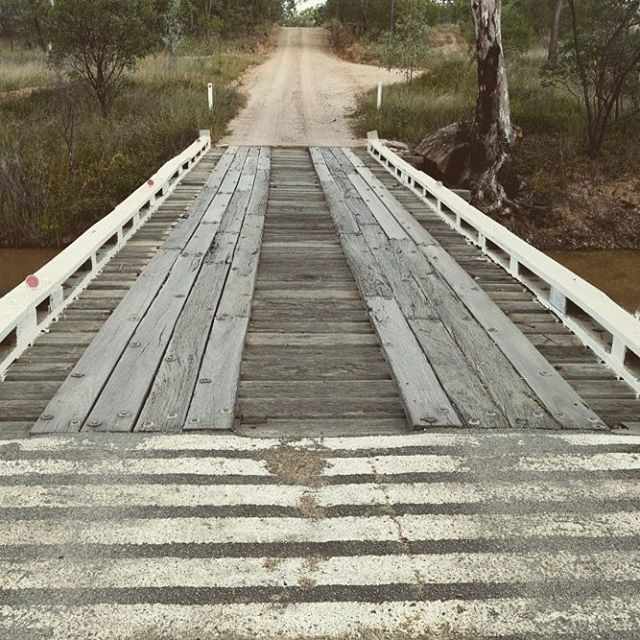 Gorgeous historic bridge - Irvinebank - Far North Queensland, Australia. Near deserted old mining towns! #placestovisit