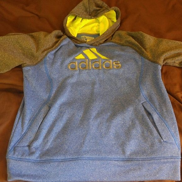 Adidas hoodie Adidas hoodie, kids large, fits just like a female small. Adidas Other