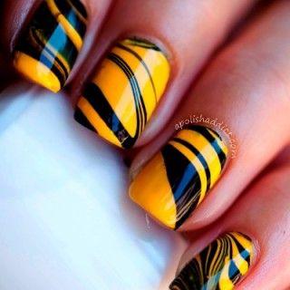 Más de 30 diseños de uñas decoradas en agua + Tutoriales
