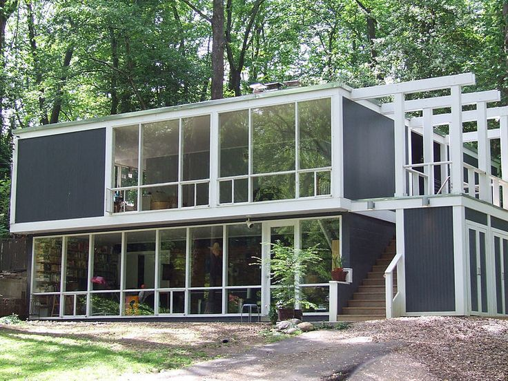 The Strange Pocket of Modern Houses in Virginia that Were Considered Communist   Atlas Obscura