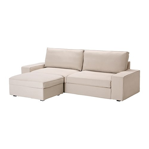 amazing kivik sofa bed with footstool ingebo light beige ikea with chaise plastique ikea. Black Bedroom Furniture Sets. Home Design Ideas