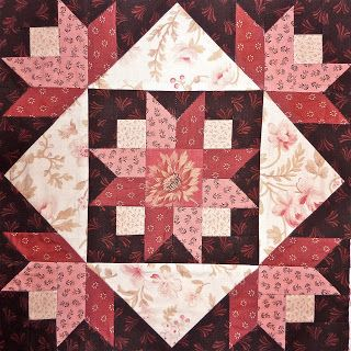 Kathy's Quilts: Chocolate Covered Strawberries Block 30