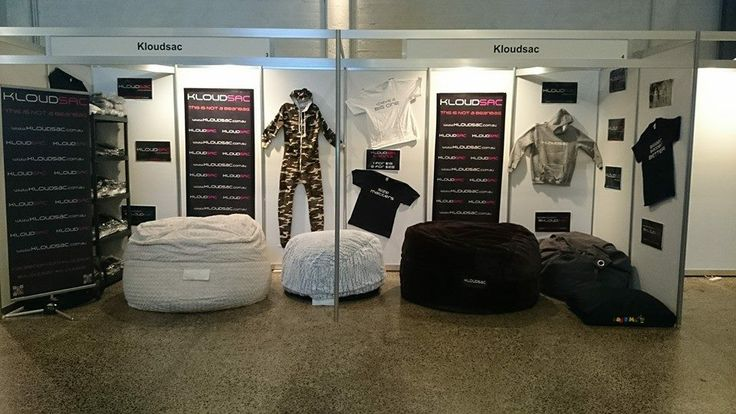 The KloudSac stand down at Sexpo Tasmania 2014.